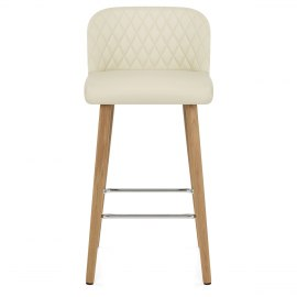 Pacific Wooden Stool Cream