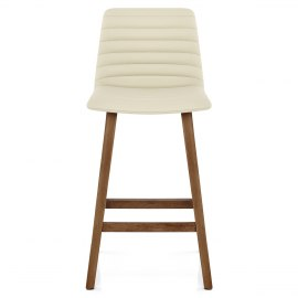Spritz Wooden Stool Cream