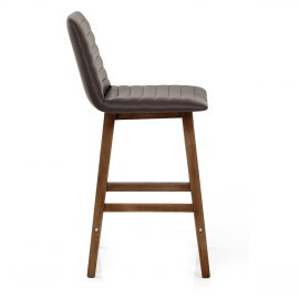 Spritz Wooden Stool Brown