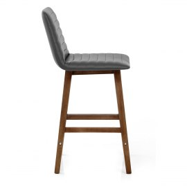 Spritz Wooden Stool Grey