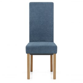 Carolina Dining Chair Denim Blue