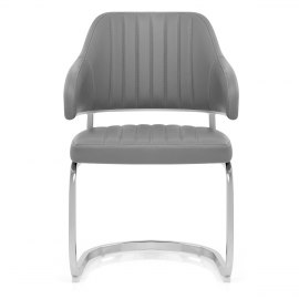 Horizon Chair Grey Leather