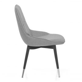 Dynasty Dining Chair Grey Fabric