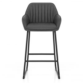 Kanto Bar Stool Charcoal