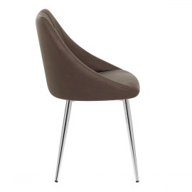 Tempo Dining Chair Brown