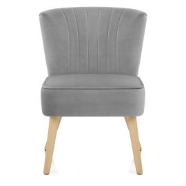 Harmony Dining Chair Grey Velvet