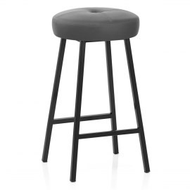 Buzz Bar Stool Grey