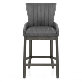 Chiltern Wooden Bar Stool Grey