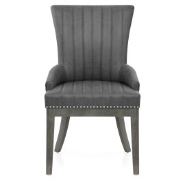 Chiltern Wooden Dining Chair Grey