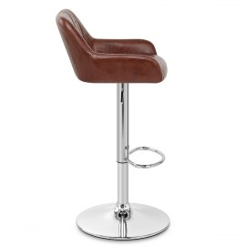 Eagle Bar Stool Antique Brown