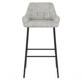 Falcon Bar Stool Antique Light Grey