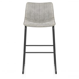 Tucker Stool Antique Light Grey