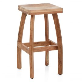 Jarvis Wooden Bar Stool