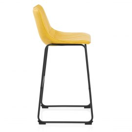 Tucker Stool Antique Yellow