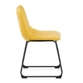 Tucker Chair Antique Yellow