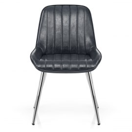 Mustang Chrome Chair Antique Slate