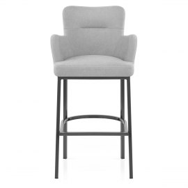 Porter Bar Stool Grey Fabric