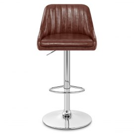 Hobart Bar Stool Antique Brown
