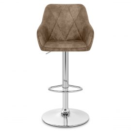 Modena Bar Stool Antique Brown