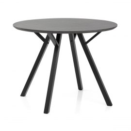 Quest 100cm Dining Table Grey Wood