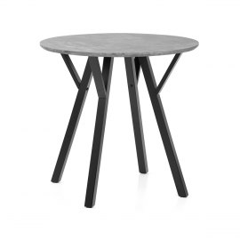 Quest 80cm Dining Table Concrete