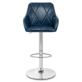 Modena Bar Stool Blue