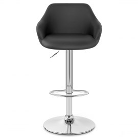 Utopia Bar Stool Black