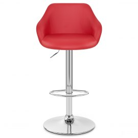 Utopia Bar Stool Red