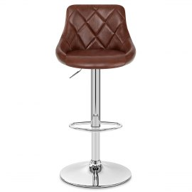 Hype Bar Stool Antique Brown