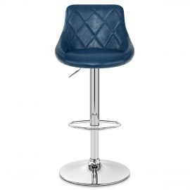 Hype Bar Stool Antique Blue