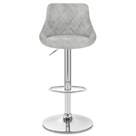 Hype Bar Stool Light Grey