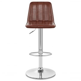 Pulse Bar Stool Antique Brown