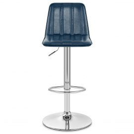 Pulse Bar Stool Antique Blue