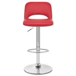Hugo Bar Stool Red