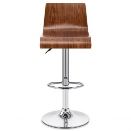 Slink Bar Stool Walnut