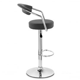 Pluto Bar Stool Black