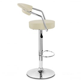 Pluto Bar Stool Cream