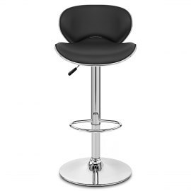 Duo Bar Stool Black