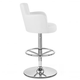 Chateau Bar Stool White