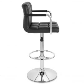 Maze Bar Stool Black