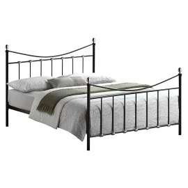 Oban Black Bed