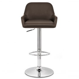 Sassi Bar Stool Brown