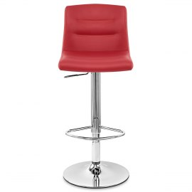 Paradis Bar Stool Red