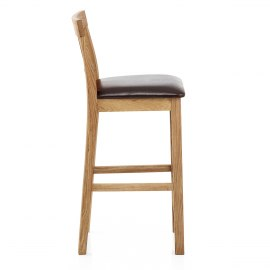 Grasmere Oak Bar Stool Brown