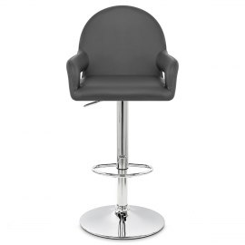 Munich Bar Stool Grey