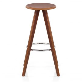 Barclay Walnut Bar Stool