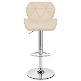Diamond Bar Stool Cream