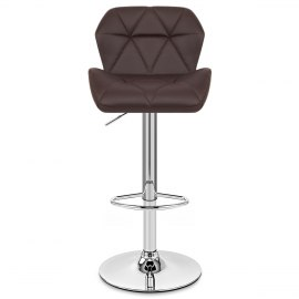 linear bar stool brown atlantic shopping