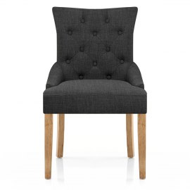 Verdi Chair Oak & Grey