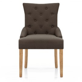 Verdi Chair Oak & Brown